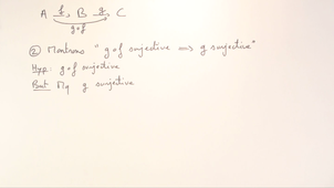 Exercice 7 (Injection, surjection, bijection) [00193]