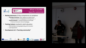 Presentation of DILABS by Sandrine Bonnet