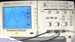 Oscilloscope et régimes alternatifs: mesures