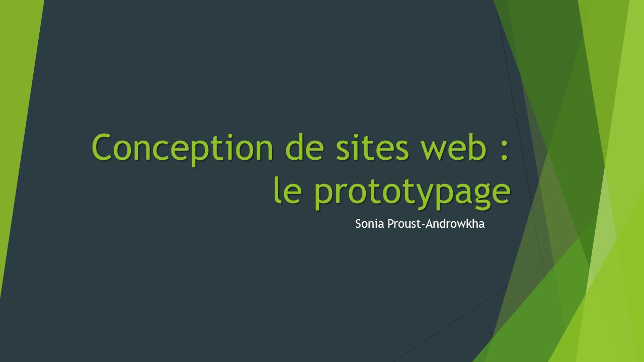 Conception de sites web : le prototypage