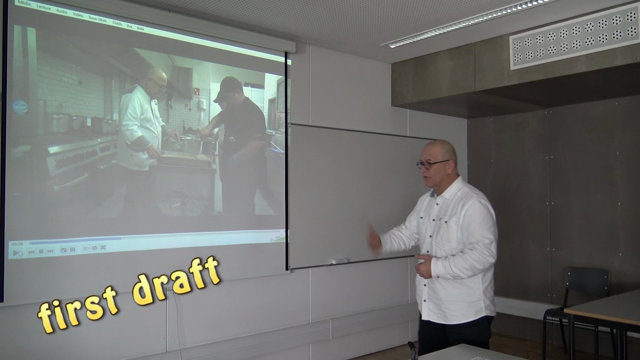 Extracts of self analysis with chef Lima : I explain and then they do it