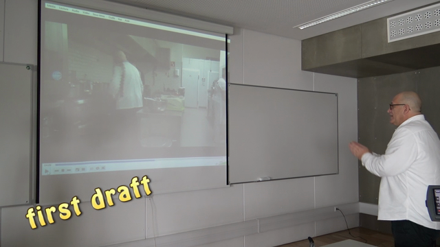 Extracts of self analysis with chef Lima : teaching and learning
