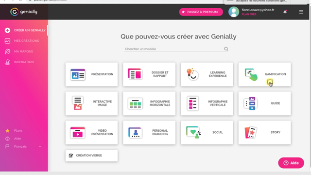 Screencast outil genially (gamification/interactive pursuit) Flore Lacave groupe epsilon
