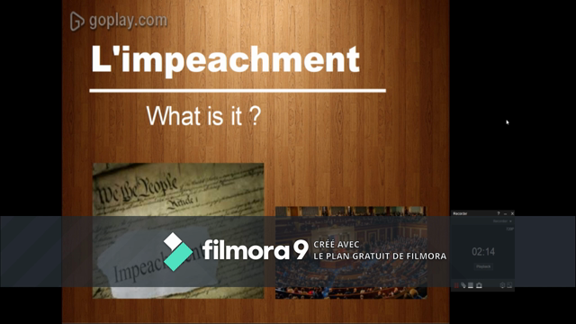 project video: impeachment