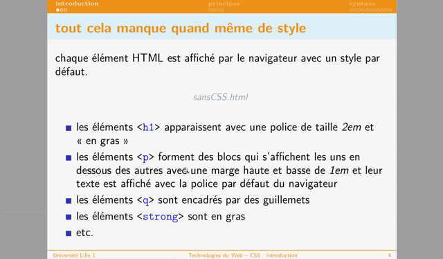CSS : introduction - partie 1