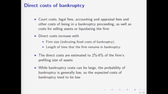 Auctions in Bankruptcy : overview (Part 1)